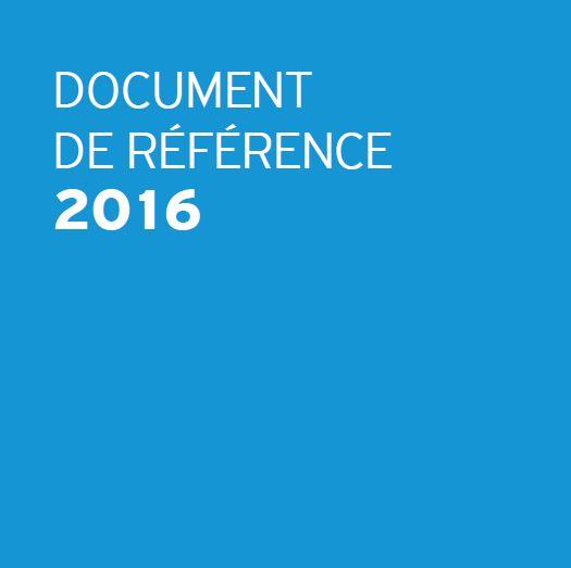 Document de référence 2016